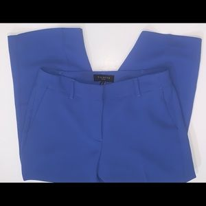 NWT! Talbots Petites blue cropped trousers